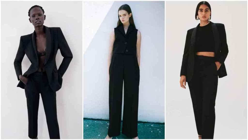 Tres propuestas sencillas de cómo vestir de negro.