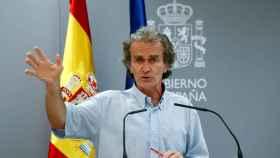 El director del Centro de Coordinación de Emergencias y Alertas Sanitarias, Fernando Simón. EP