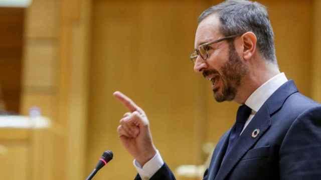 El portavoz del PP en el Senado, Javier Maroto. EP