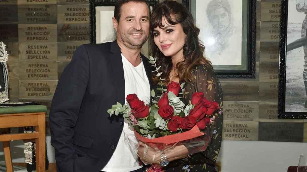 Marisa Jara y Miguel Almansa en una imagen tomada en octubre del pasado año 2020.