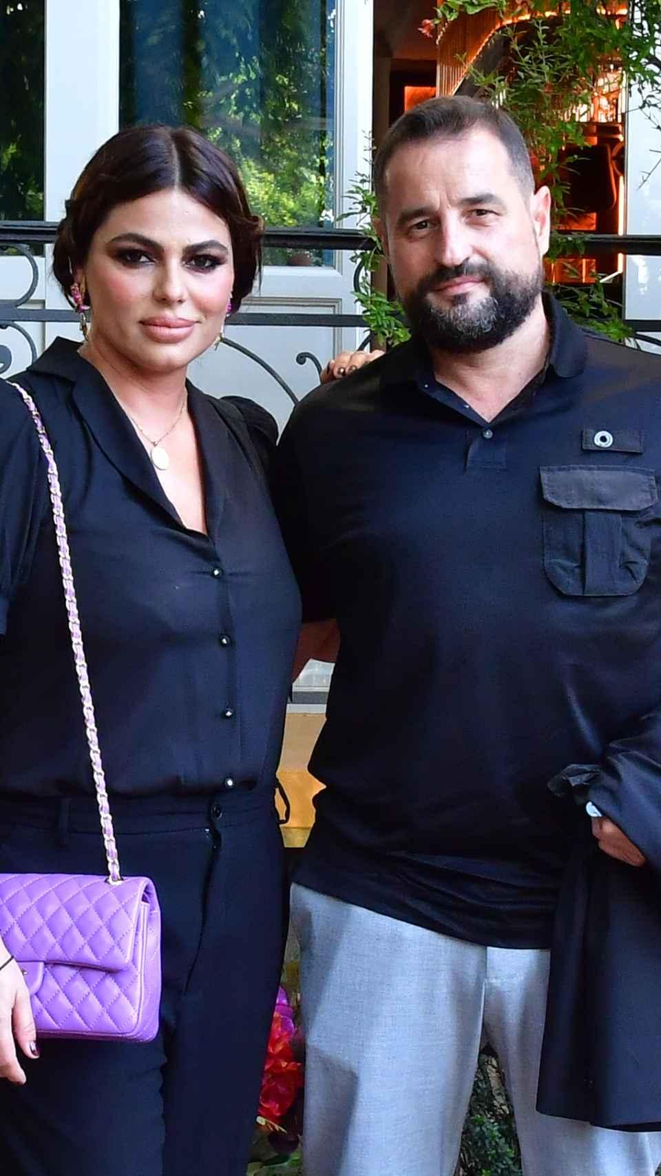 La pareja durante un acto público en junio de 2021.