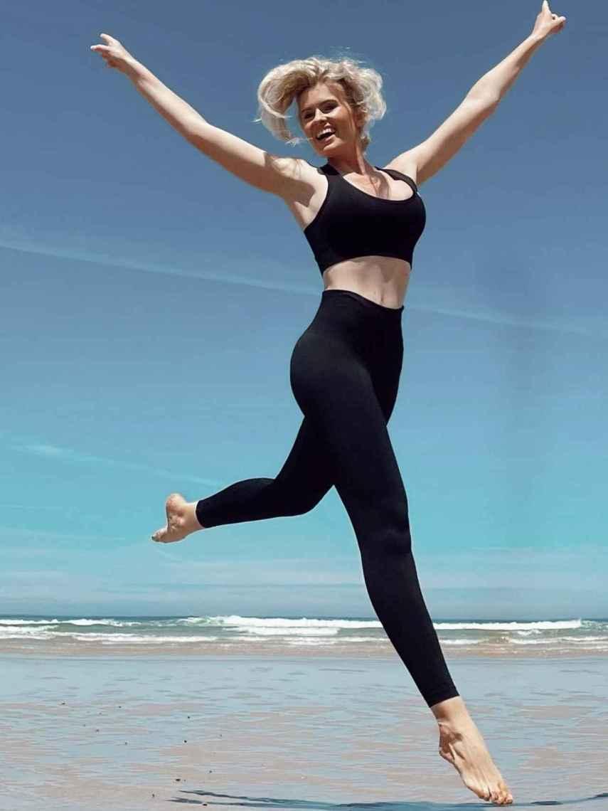 Abenia cuida su alimentación y hace ejercicio aunque sin obsesionarse con el peso.