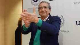 El rector de la UMA, José Ángel Narváez