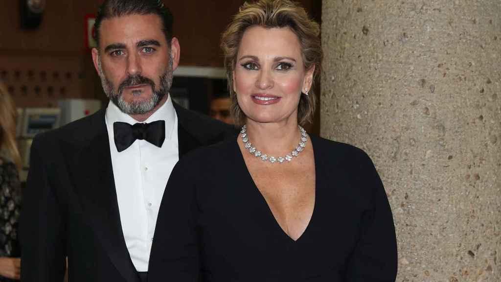 Matías Urrea y Ainhoa Arteta, en Madrid en diciembre de 2019.
