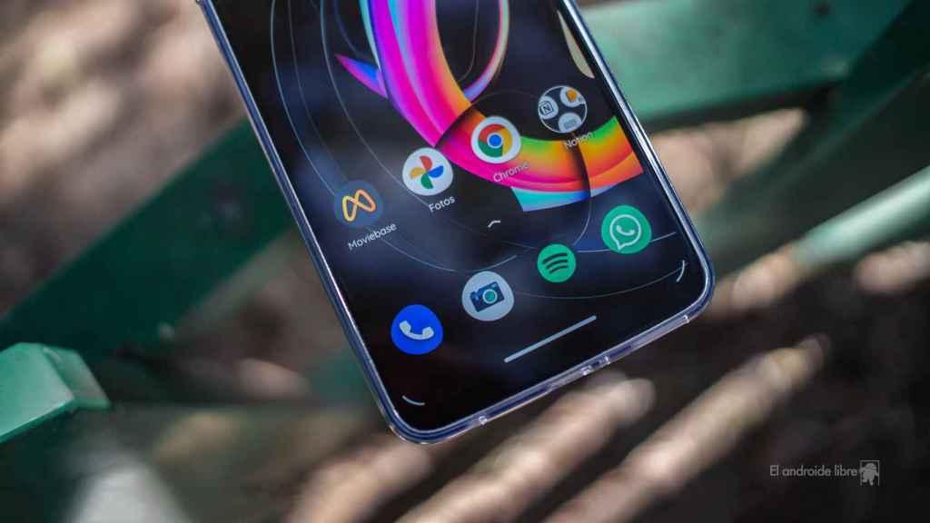 Motorola Edge 20 Lite aplicaciones del dock