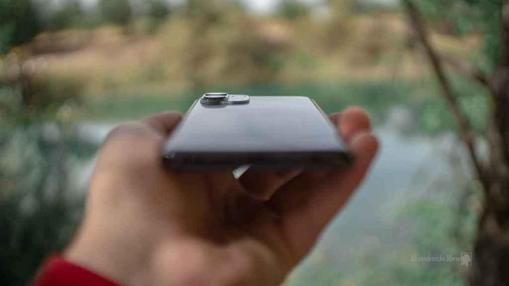 Motorola Edge 20 Lite grosor