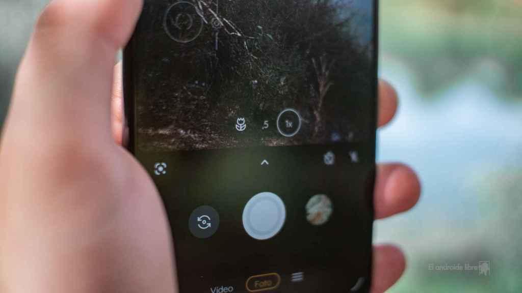 Motorola Edge 20 Lite aplicación de cámara