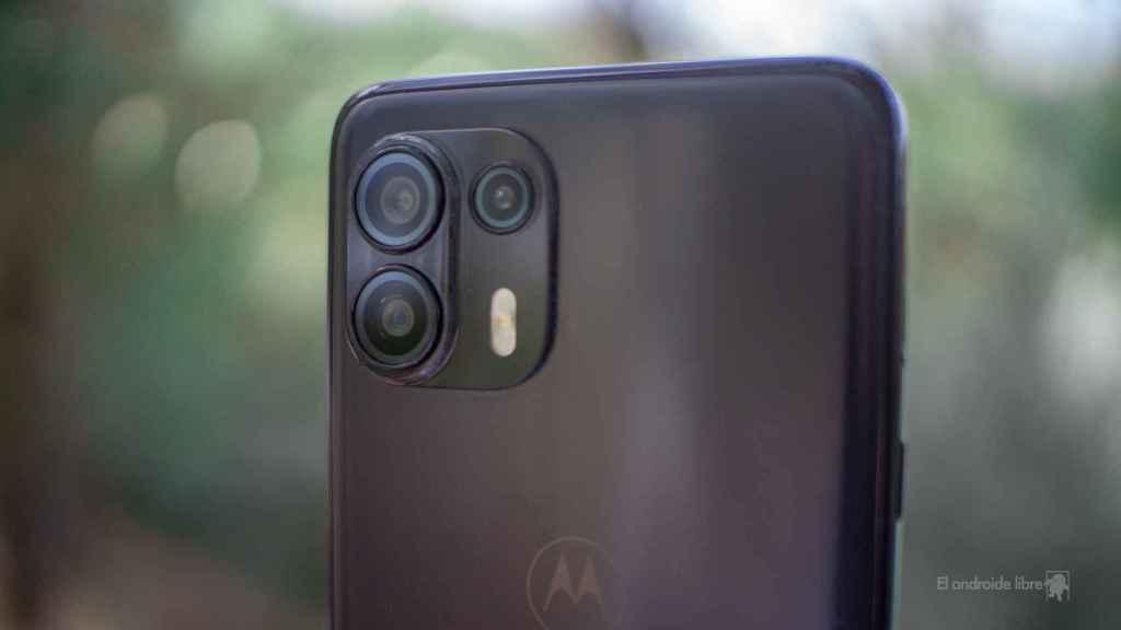 Trasera del Motorola Edge 20 Lite