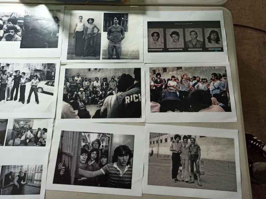 Imágenes de archivo que ha usado  para inspirarse Fernando García, jefe de vestuario.