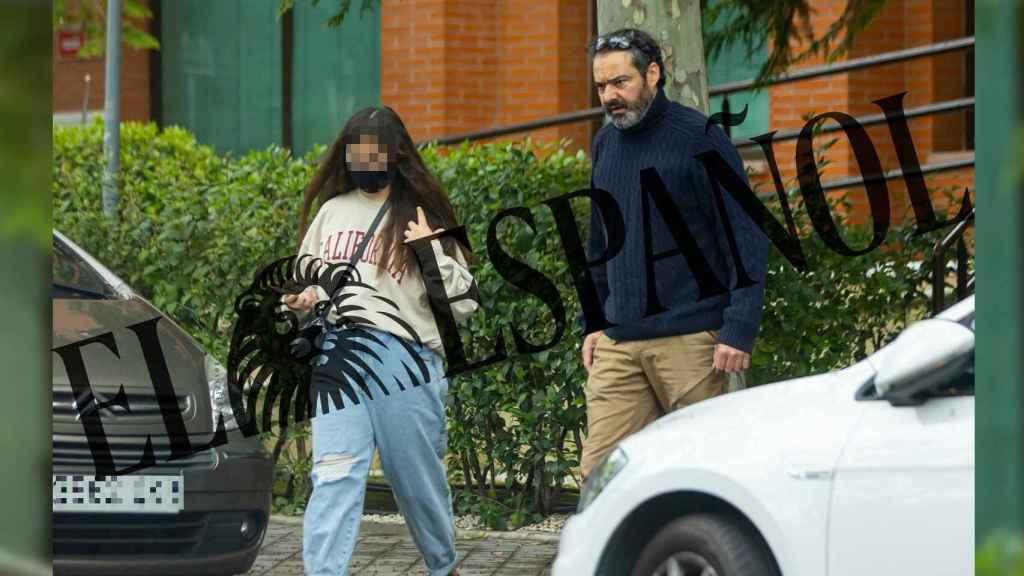 Antonio Pardo y su hija Nadia en una fotografía exclusiva de JALEOS.