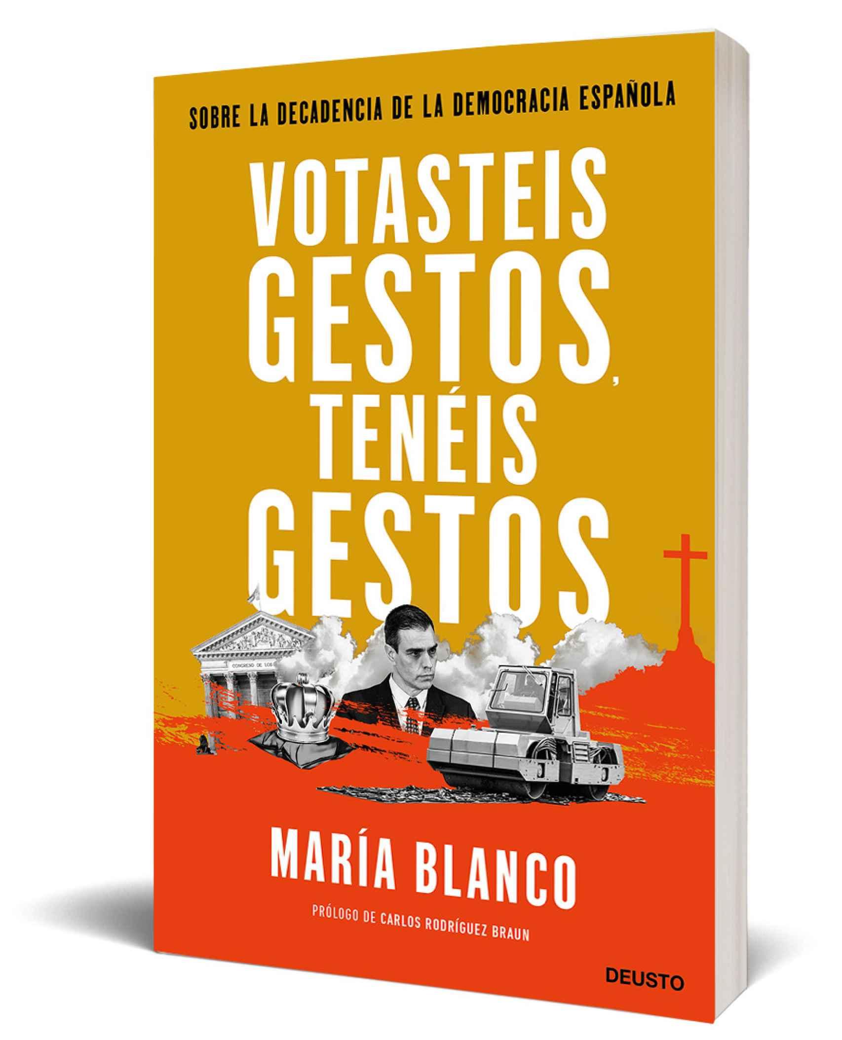 El libro de María Blanco.