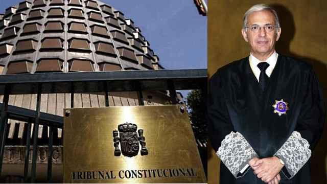 Antonio Narváez Rodríguez, magistrado del Tribunal Constitucional.