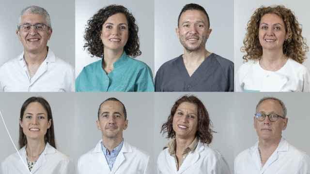 """Campaña """"Nuestras mejores caras para cuidar de ti"""" de Quirónsalud."""
