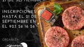 Concurso hamburguesa cartel aescarne