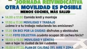 'Otra Movilidad Es Posible: Menos Coches, Más Salud'.