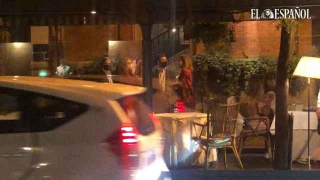 Pablo Casado e Isabel Torres: romántica cena en El Paraguas.