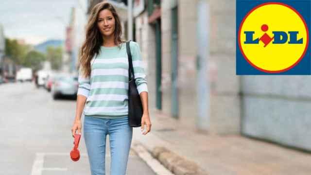 Malena Costa en la nueva campaña de Lidl.