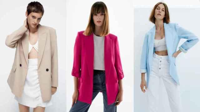 Ocho blazers versátiles de Zara para triunfar con un 'look' de entretiempo
