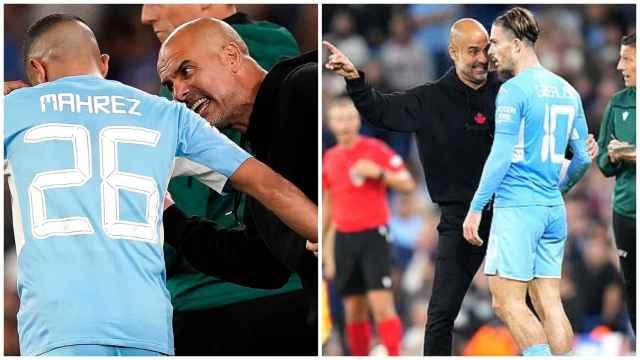 Las imágenes del deporte: Guardiola se hace viral tras perder los nervios en pleno partido