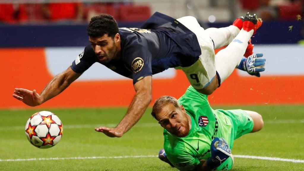 La polémica jugada del gol de Mehdi al Atlético de Madrid