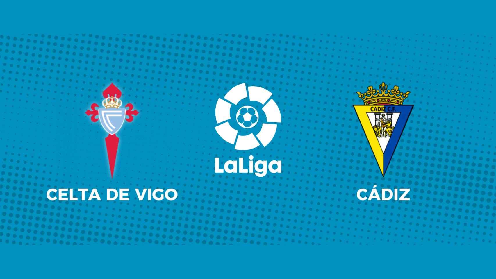 Celta de Vigo - Cádiz: siga en directo el partido de La Liga