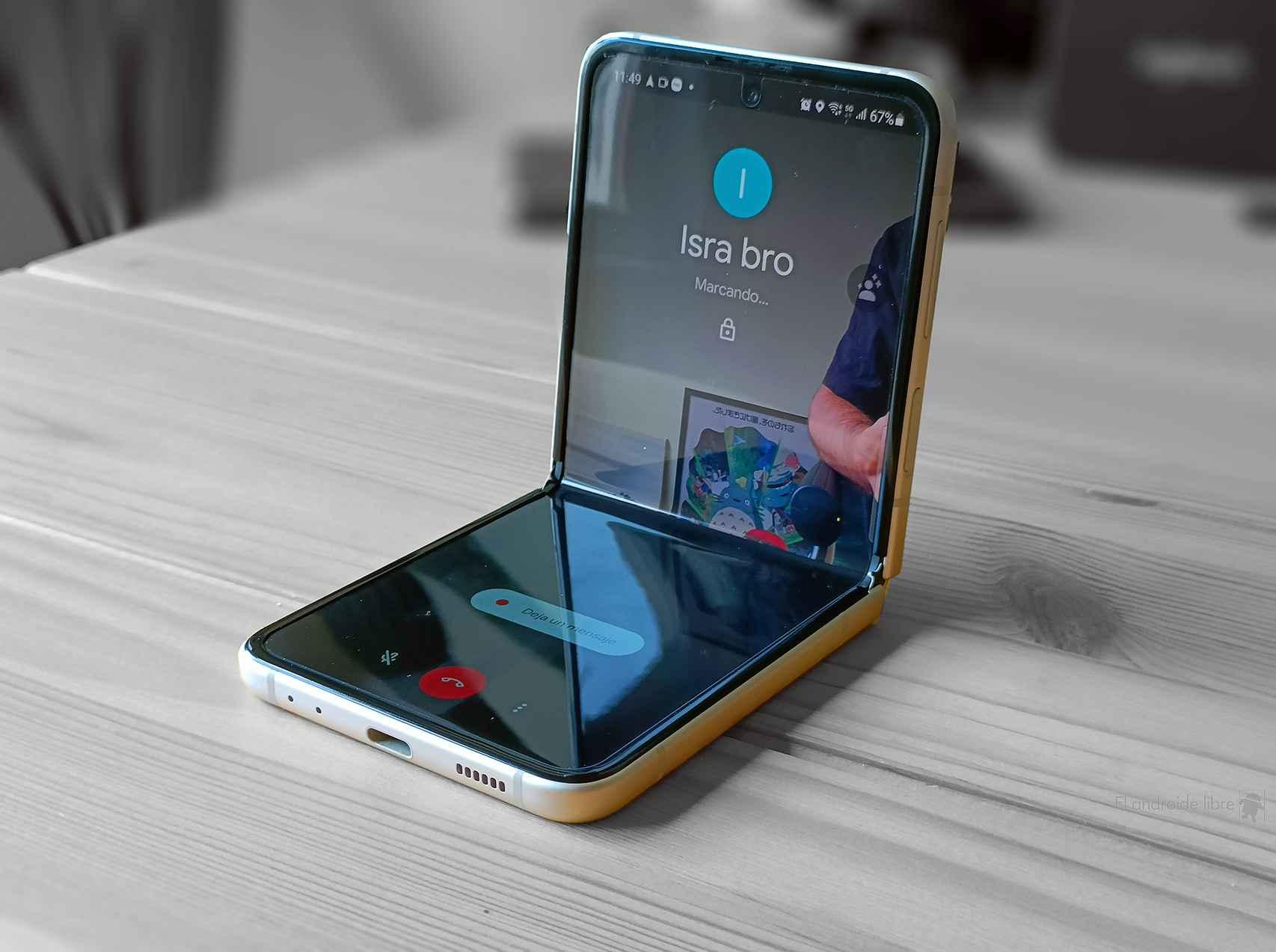 Google Duo en el Galaxy Z Flip 3