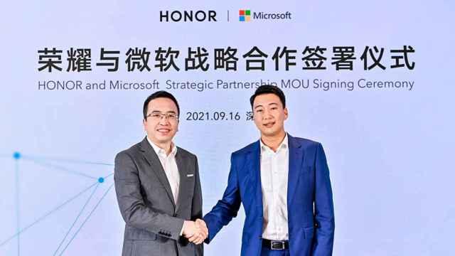 Honor y Microsoft se alían