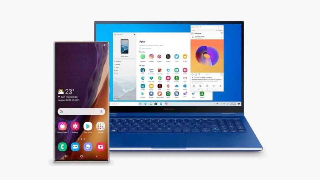 Integración de las apps de Samsung y Microsoft