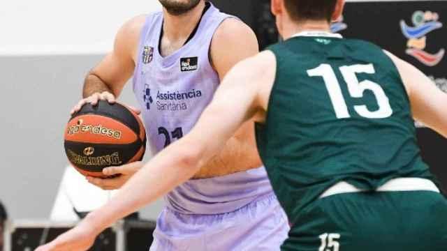 Álex Abrines, en un partido del Barcelona de baloncesto