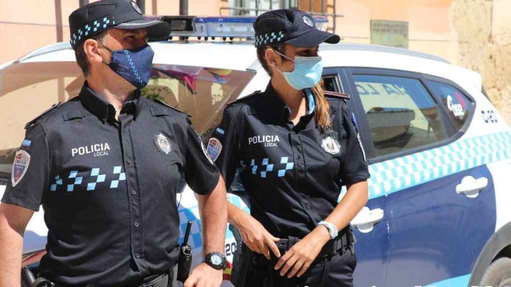 Policía Local de Almansa (Albacete). Imagen de archivo