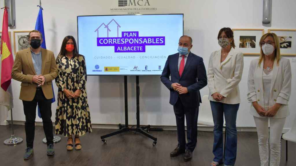 Presentación del Plan Corresponsables en Albacete