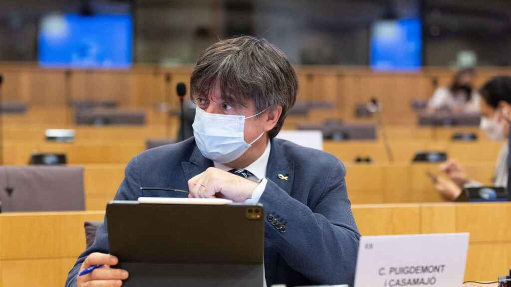 El eurodiputado de JxCat, Carles Puigdemont