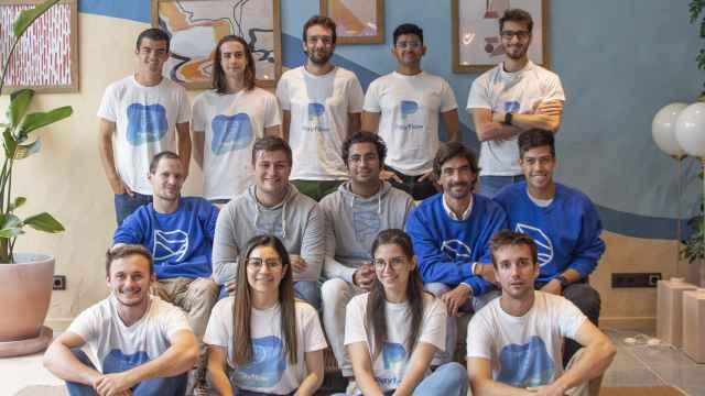 Miembros del equipo humano que conforma Payflow en Barcelona.