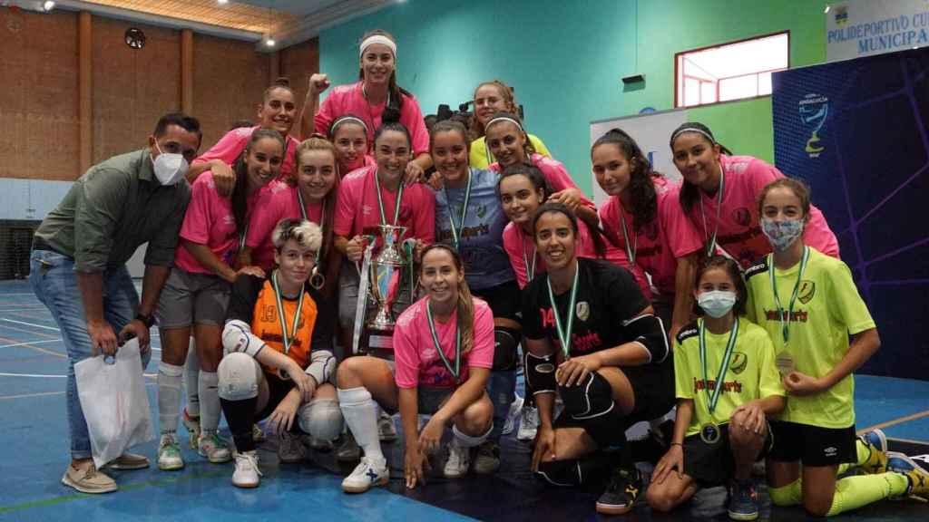 El Atlético Torcal, campeón de la Copa de Andalucía.