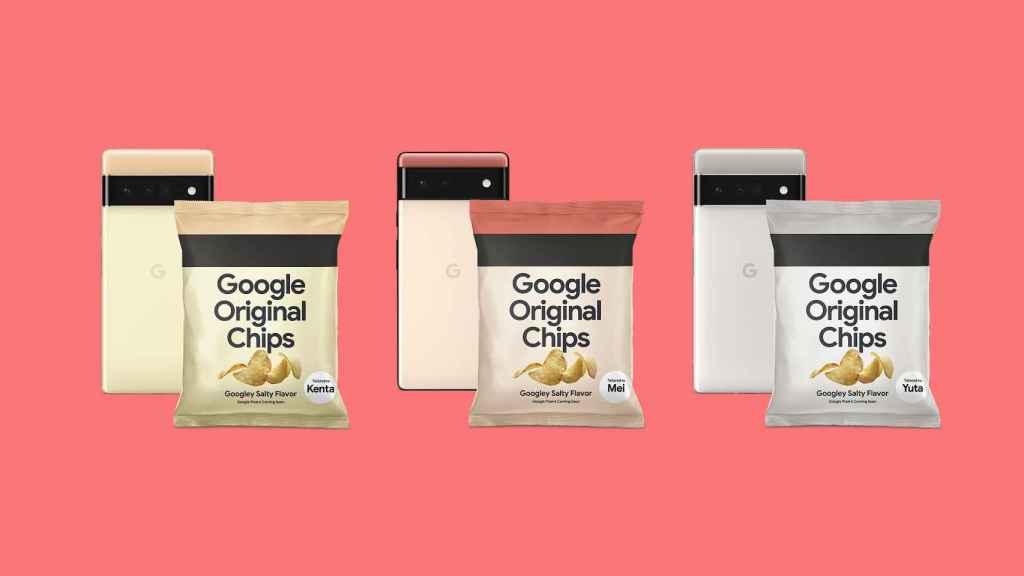 Patatas fritas de Google.