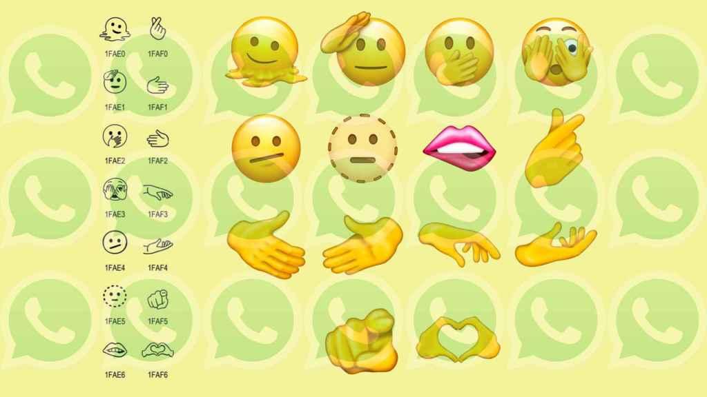 Emojis que llegarán a WhatsApp