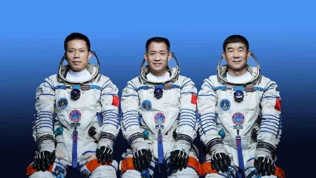 Tripulación china de Tianhen