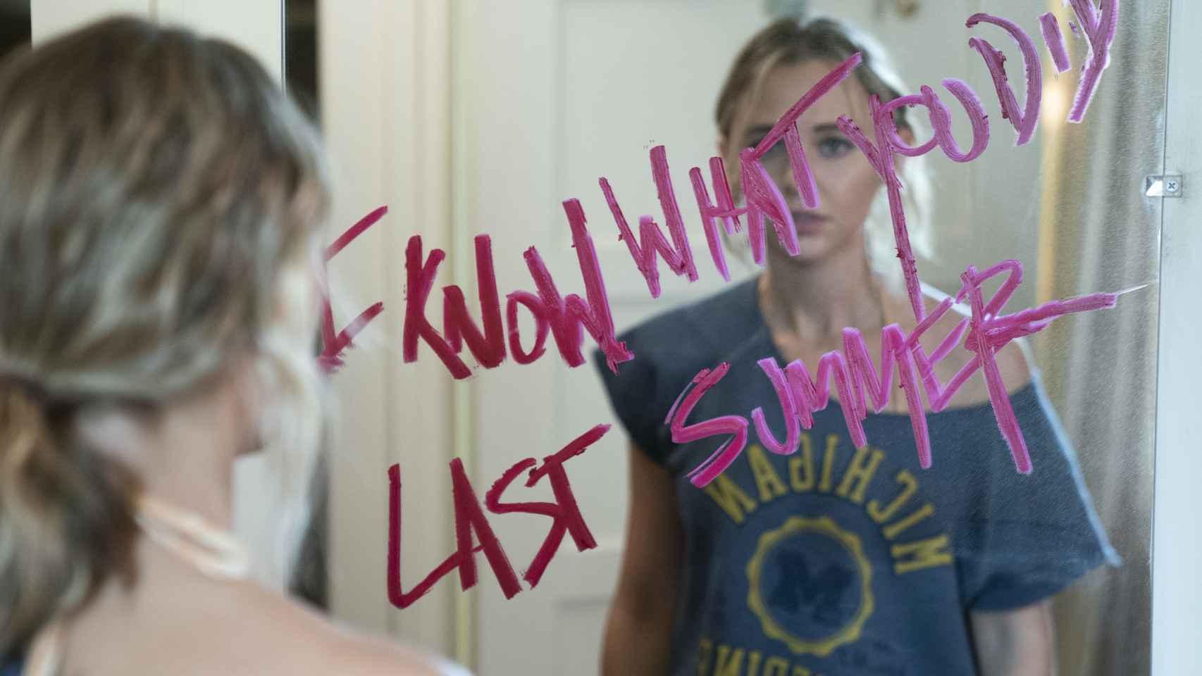 'Sé lo que hicísteis el último verano': primeras imágenes de la serie de Amazon basada en las novelas de Lois Duncan