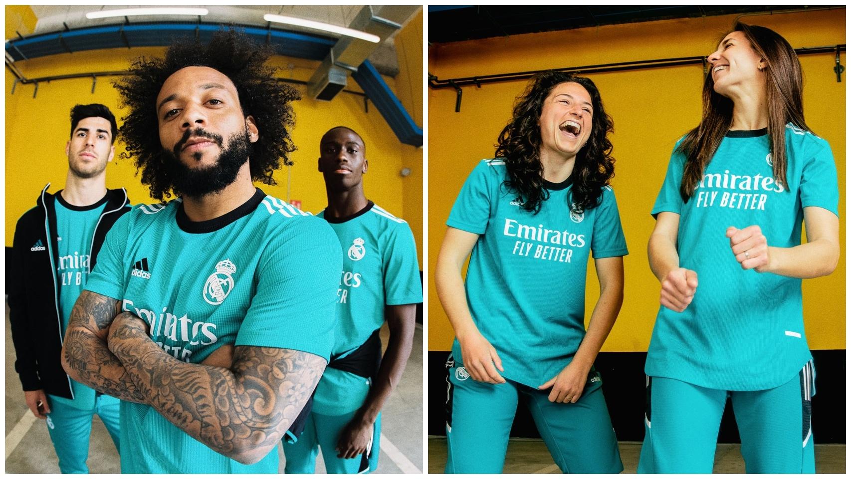 El Real Madrid presenta su tercera equipación para la temporada 2021/2022