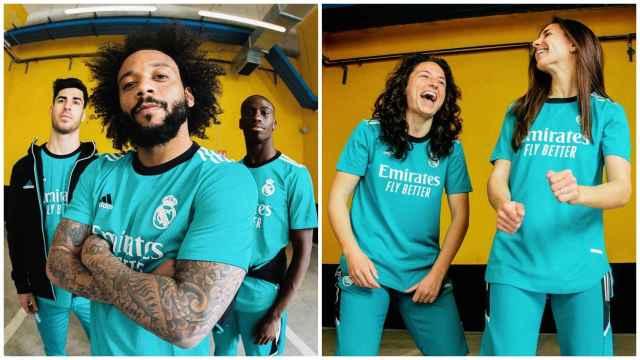 El Real Madrid presenta su tercera equipación 2021/2022: los detalles de la nueva camiseta