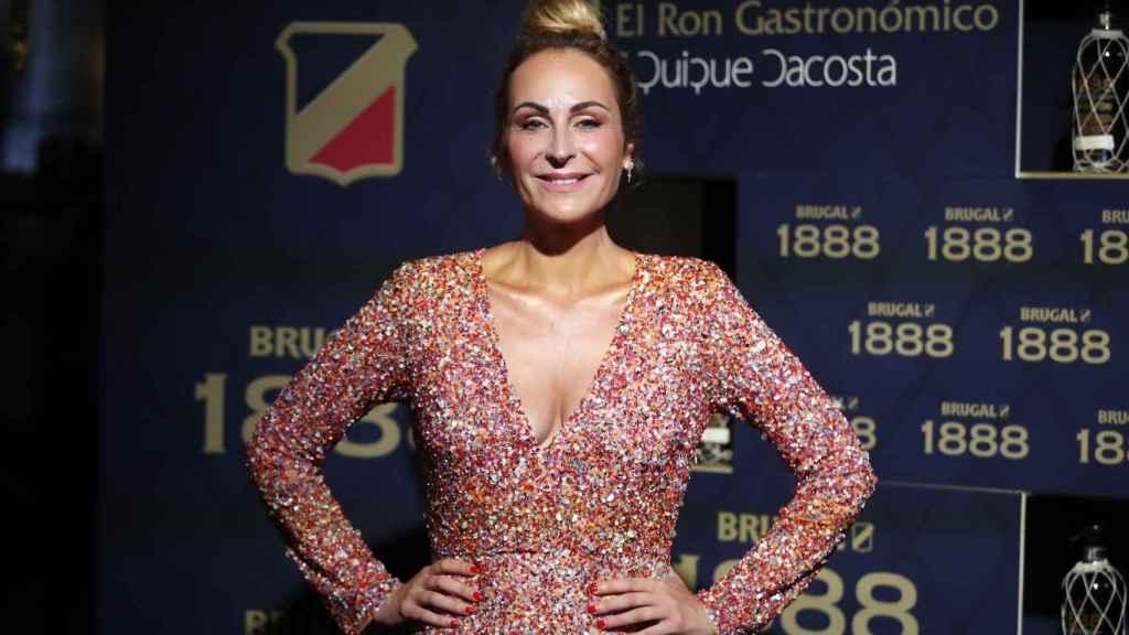 Ana Milán, en el evento de Brugal en 16 de septiembre.
