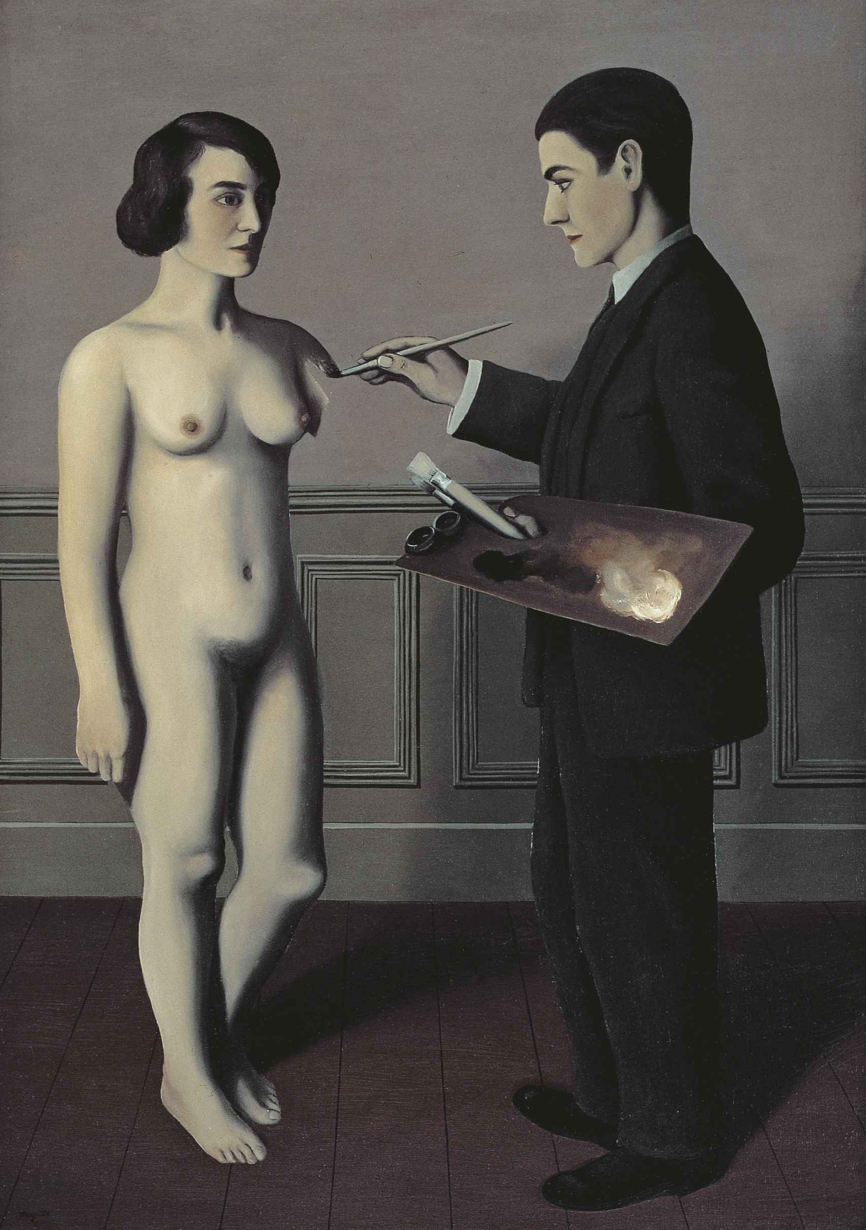 'Tentativa de lo imposible', de René Magritte.