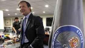 Alberto Saiz en una imagen de archivo cuando estaba al frente del CNI