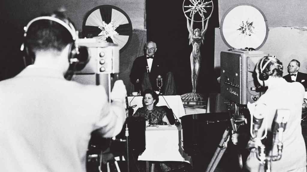 Así fue la primera gala de los Premios Emmy en 1949.