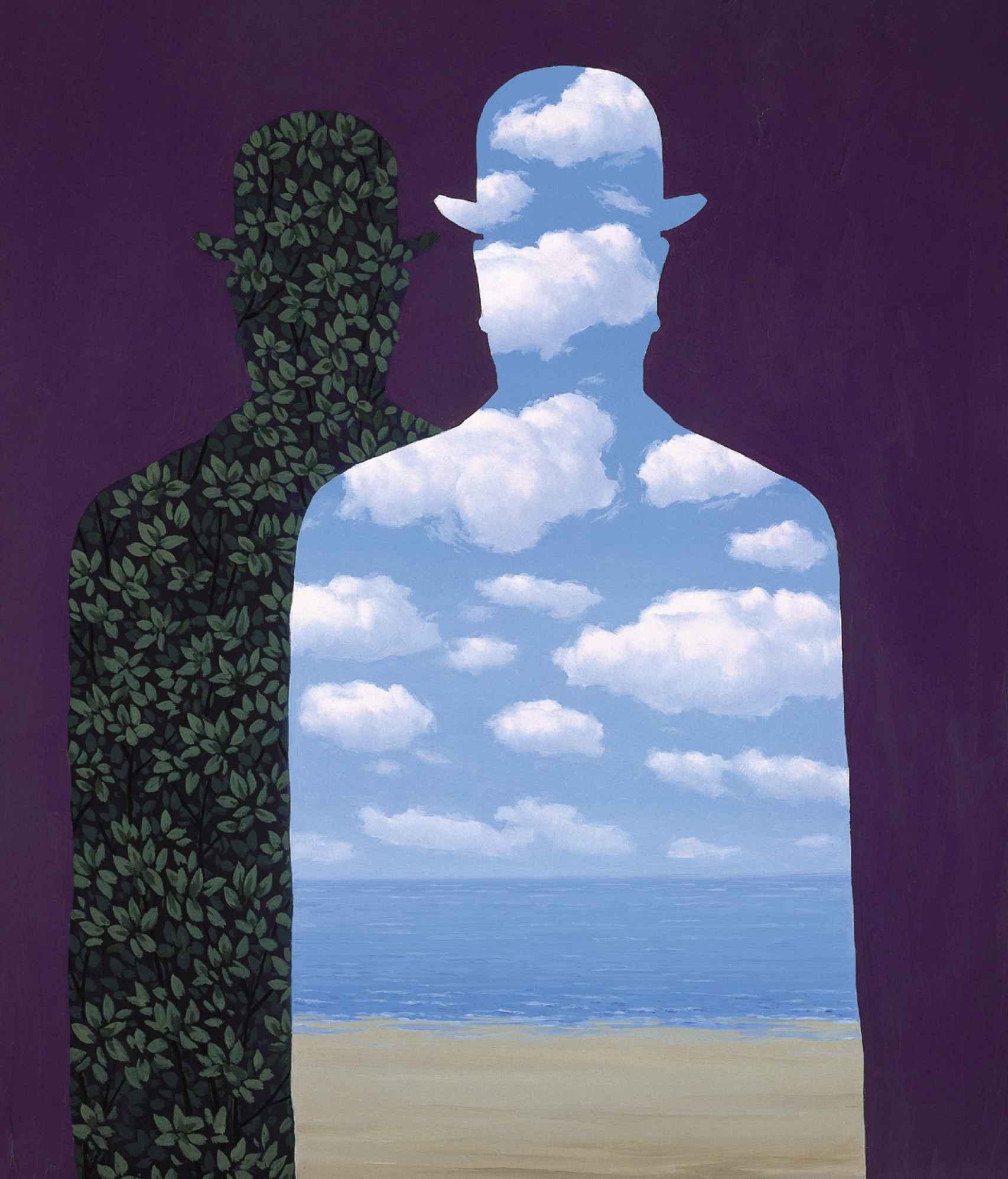 'La alta sociedad', de René Magritte.