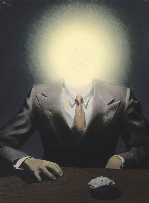 'El principio del placer', de René Magritte.