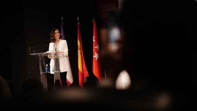 La presidenta de la Comunidad de Madrid, Isabel Díaz Ayuso, en una imagen de archivo. Efe