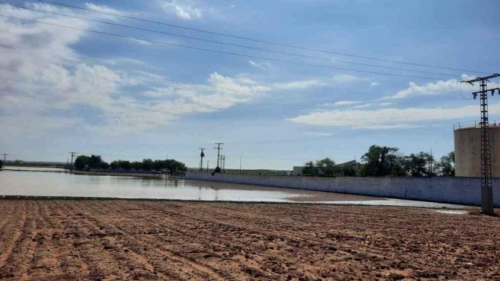 Inundaciones en El Toboso (Toledo)