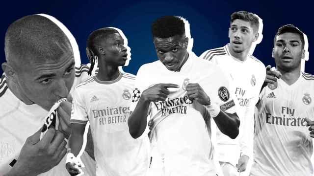 Fotomontaje del Real Madrid