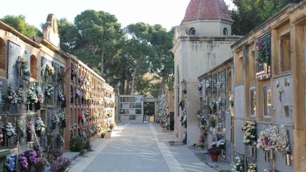 El Cementerio Viejo de Elche.